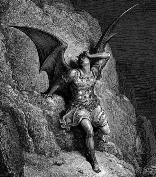 Les fils de Satan 3 [Gustave Dore - Paradise Lost Satan]