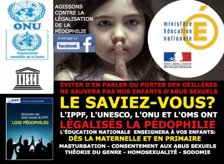 Non à la pédophilie à l'école 2