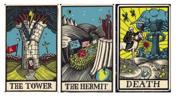 Tower, Hermit, Death