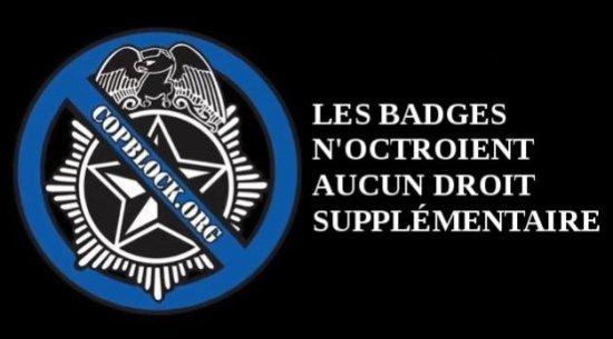 01. les badges n'octroient aucun droit supplémentaire
