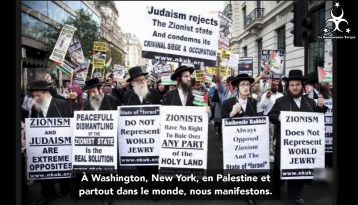 Les sionistes de parlent pas au nom des Juifs (dixit rabbin juif)