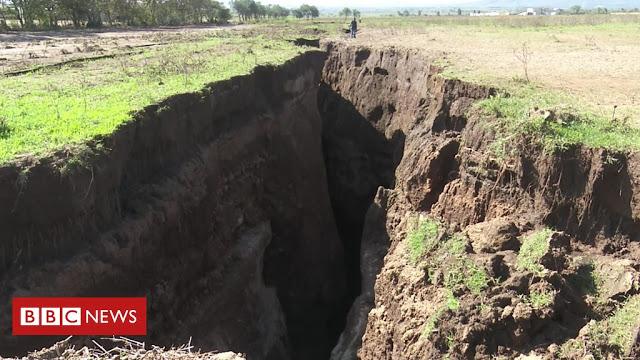 Fissure de Narok - Kenya