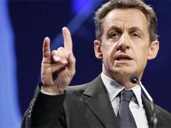 'Salut cornu' (Nicolas Sarkozy)