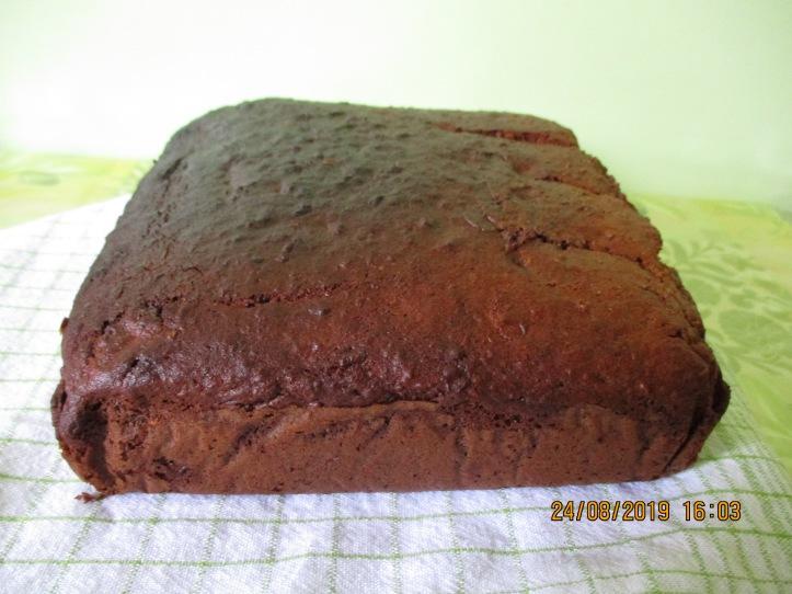 105. Présentation gâteau fini - côté court