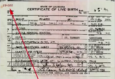 5. Certificate of live birth