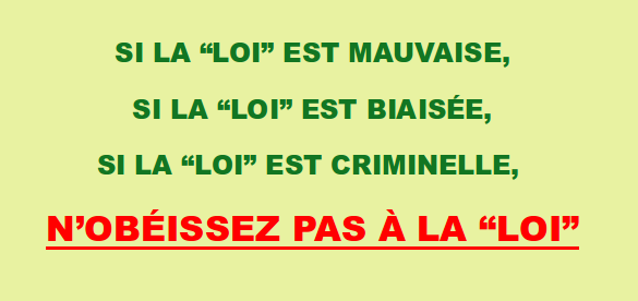 Loi criminelle
