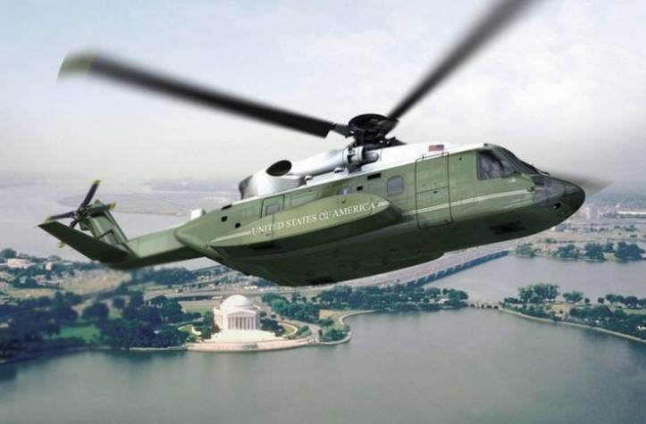 08. Presidential helicopter - no seal