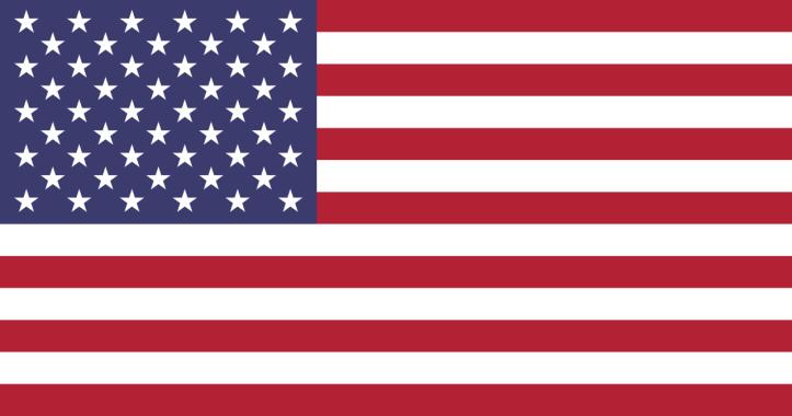 10. American war flag - no gold fringes