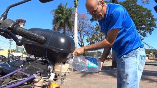 500 Km avec 1 litre d'eau