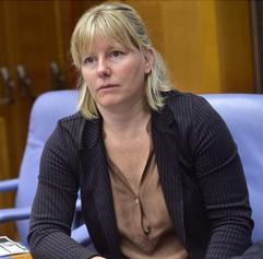 Sara Cunial, députée italienne