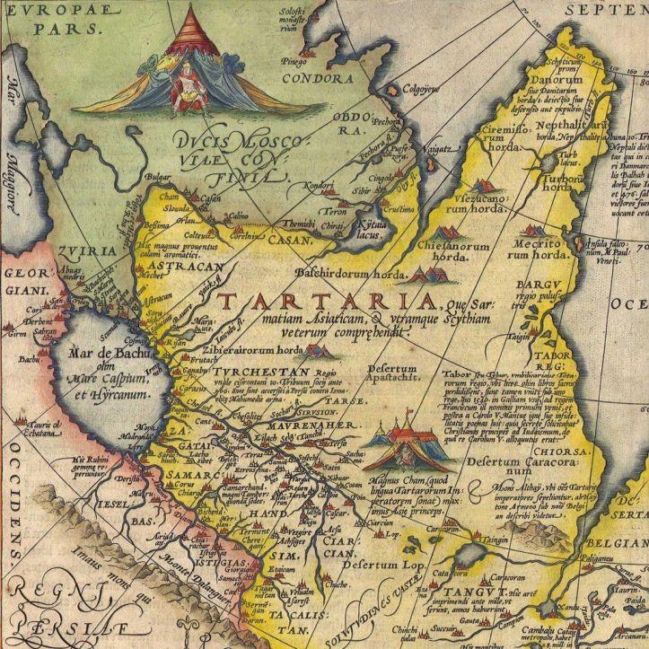 Ancient map of Tartaria