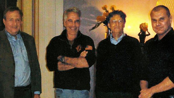 Bill Gates et Jeffrey Epstein