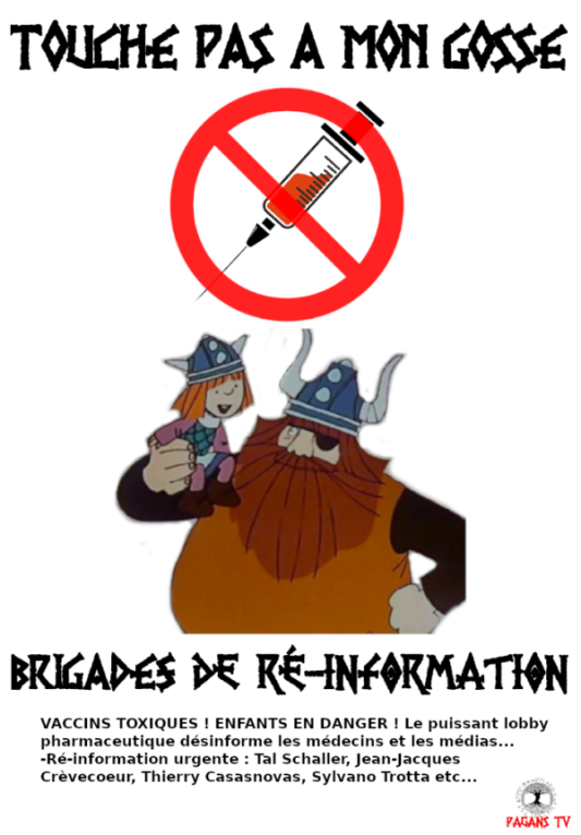Brigades 'touche pas à mon gosse'