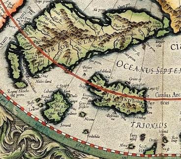 Frisland, l'île disparue (des cartes !)