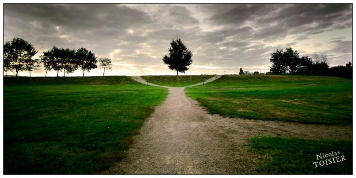 La croisée des chemins par Nicolas Toisier