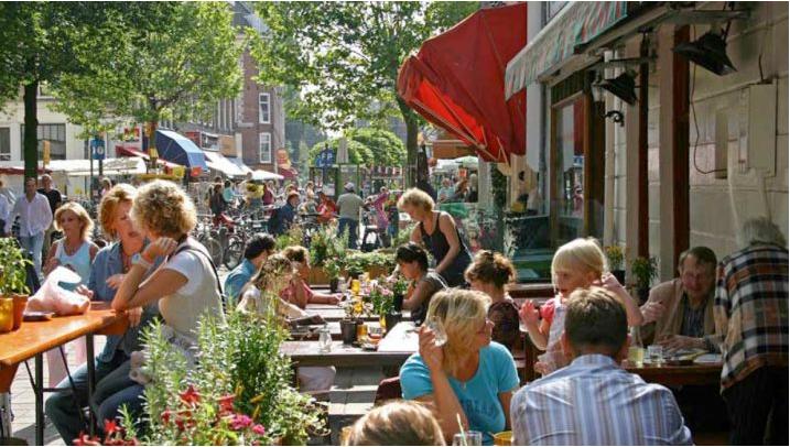 Sans masques aux Pays-Bas