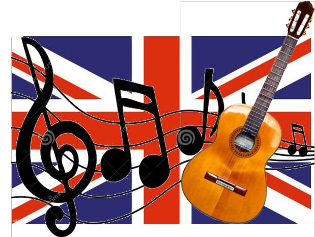 Message en musique des Anglais